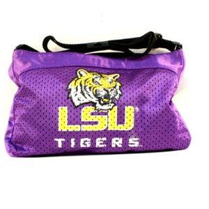 LSU Tigers Gameday Jersey Mesh Purse NEW